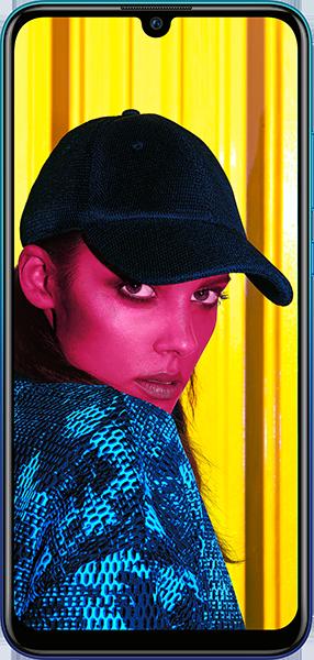 PremiumSIM LTE XL + HUAWEI P smart 2019 Aurora Blue – 19,99 EUR monatlich