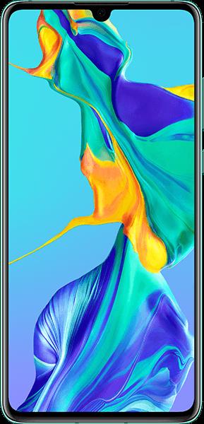 PremiumSIM LTE XL + HUAWEI P30 Aurora – 32,99 EUR monatlich