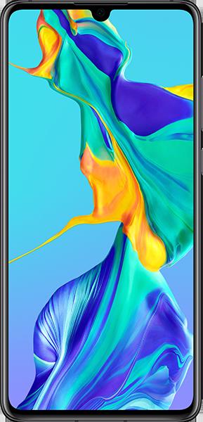 PremiumSIM LTE XL + HUAWEI P30 Black – 32,99 EUR monatlich