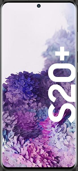 PremiumSIM LTE XL + Samsung Galaxy S20+ 4G 128GB Cosmic Black – 50,99 EUR monatlich
