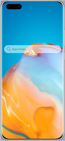 PremiumSIM LTE XL + HUAWEI P40 Pro Silver Frost – 41,99 EUR monatlich