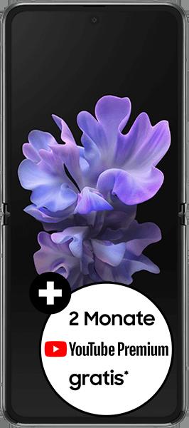 PremiumSIM LTE XL + Samsung Galaxy Z Flip 5G Mystic Gray – 50,99 EUR monatlich